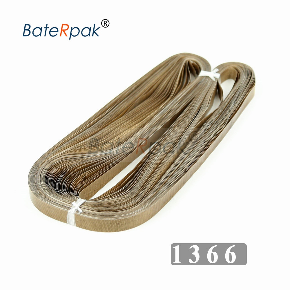 1366*15*0.2mm BateRpak Band sealer belt,P.T.F.E Resin products,seamless ring tape FRD band sealer parts 50pc/bag enlarge