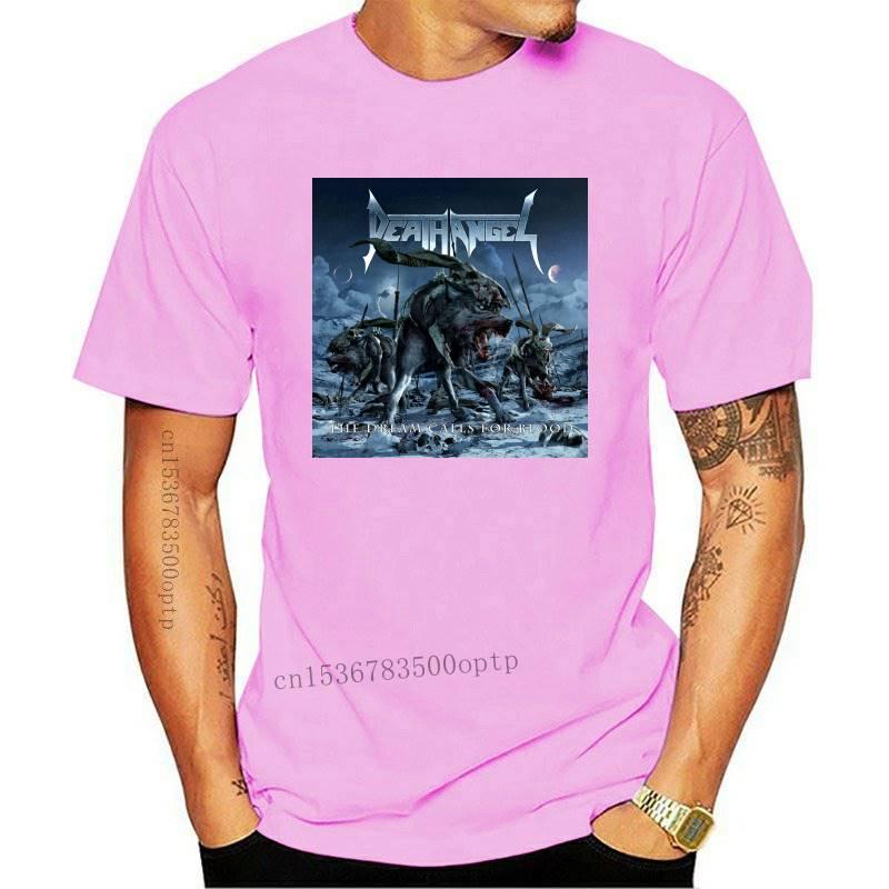 New Death Angel The Dream Calls For Blood MenS Black T-Shirt Size S M L Xl 2Xl 3Xl High Quality Tee Shirt