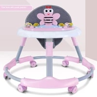 new baby walker baby learn to walk anti rollover foldable multi function walker with music toddler walker baby walker