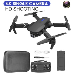 E525 PRO RC Quadcopter Profissional Obstacle Avoidance Drone Dual Camera 1080P 4K Fixed Height Mini Dron Helicopter Toy