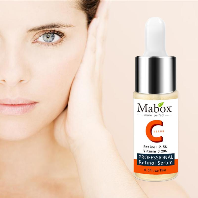 HOTSALE MABOX Plant Vitamin C Serum Whitening Anti-Aging Essence Deep moisturizing essence Face Health Care 2021 NEW