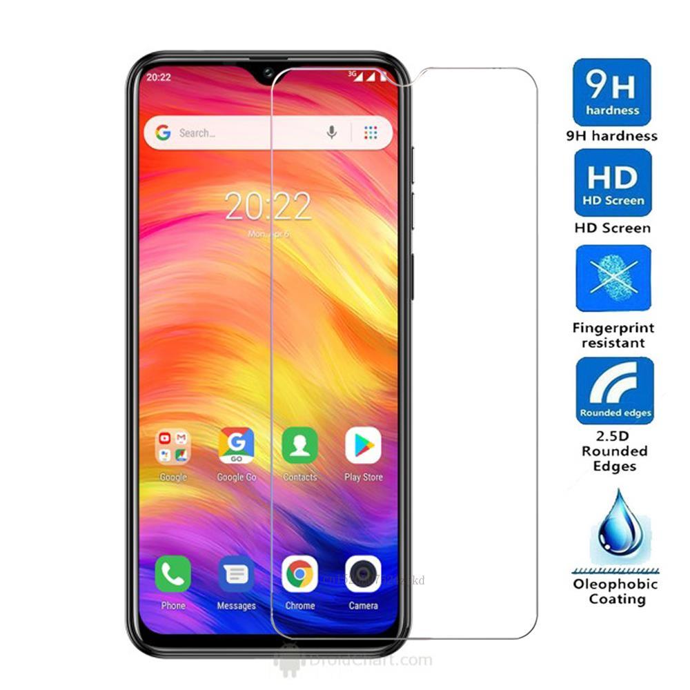 Para Ulefone Nota 7 nota 7p del teléfono del vidrio templado Protector de pantalla para atras Ulefone Power 3 3S 3L S10 S1 Pro P6000 Plus armadura 7 X3 X5