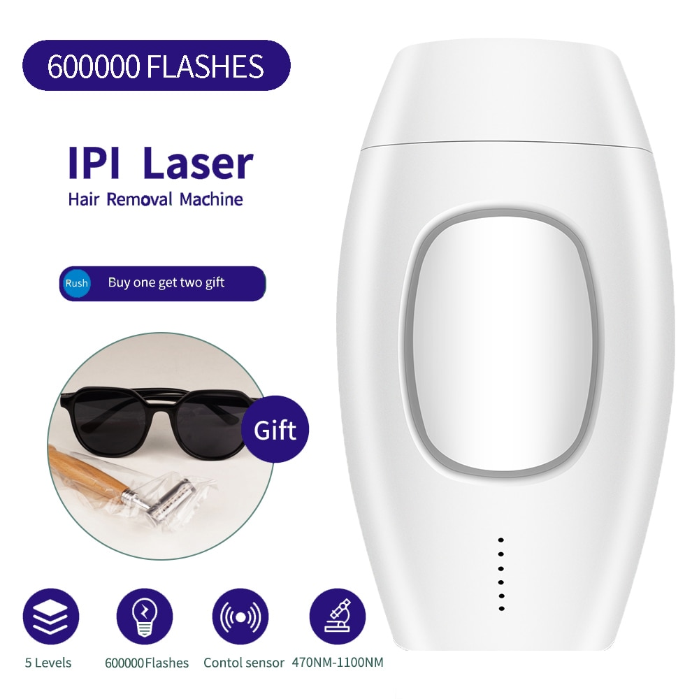 IPL Laser Hair Removal Epilator 600000 Flash Women Bikini PhotoePilator Hair Remover Permanent Painless depilador a laser