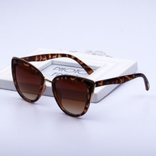 2021 Fashion Women Sunglasses Vintage Anti-glare Sun Glasses Female Fashion Leopard Shades UV400