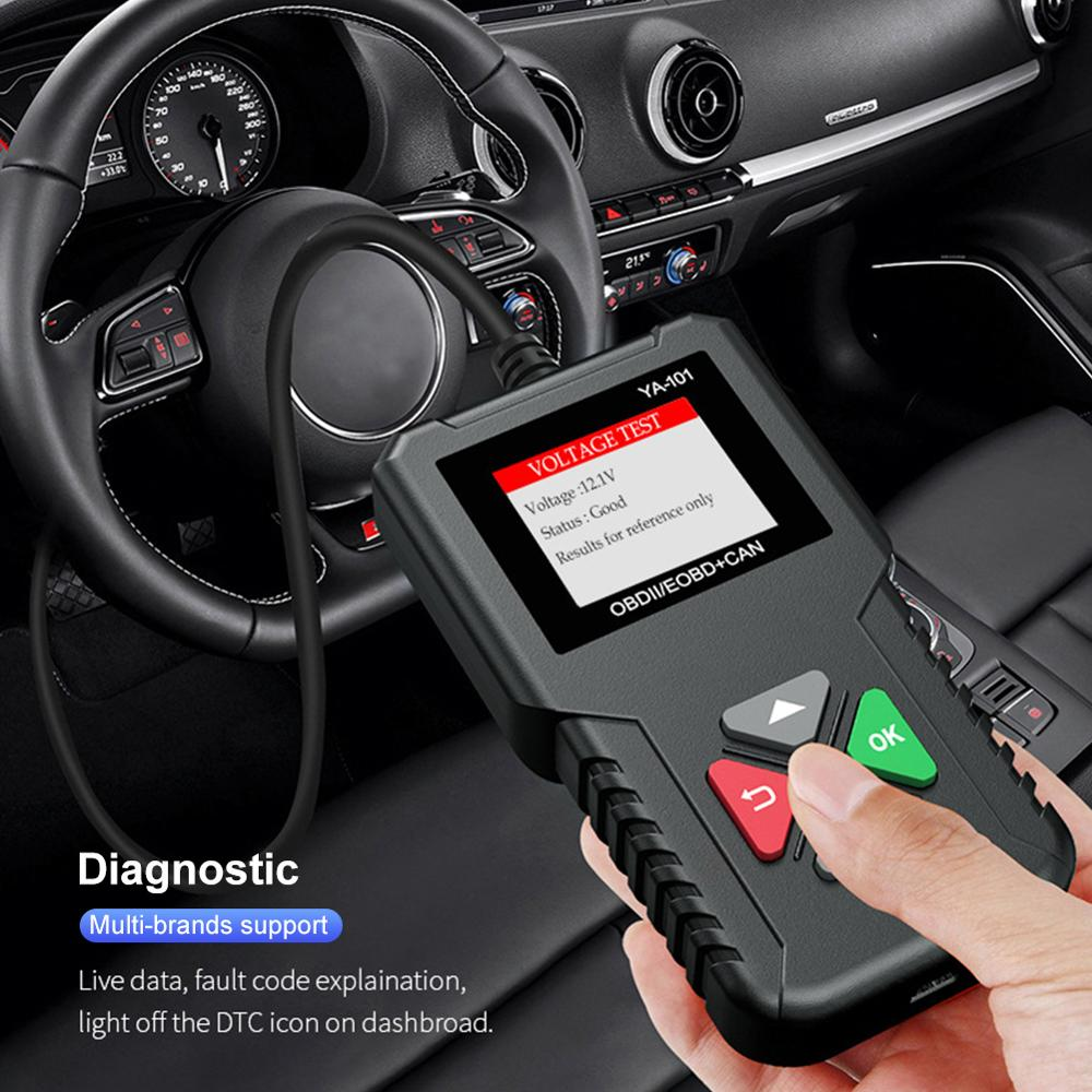 x431 creader 3001 full obd2 obdii code reader scan tools cr3001 obdii car diagnostic tool pk ad310 elm327 om123 scanner AS100 Obd2 Car Diagnostic Tool OBD 2 Automotive Scanner Engine Analyzer Tool Code Reader Obdii Scan Tool PK ELM327 v1.5
