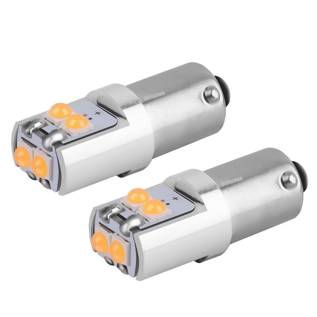 2 шт. T4W T11 H6W BA9S BAX9S BAY9S супер яркий светодиодный светильник для чтения в автомобиле, автомобильный светильник для парковки, лампа для номерного знака Белого, красного, желтого цвета