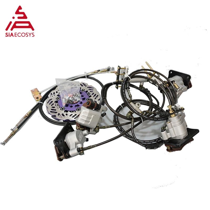 QSMOTOR 4wd 8000W 273 50H V3 brushless electric car hub motor conversion kits  for heavy car enlarge