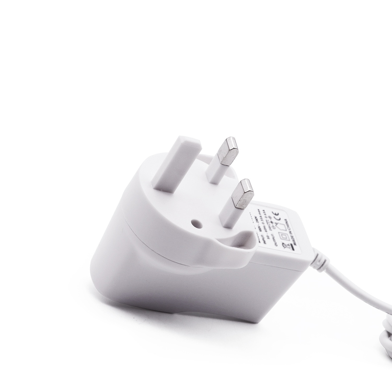 ¡24V0! Enchufe de pared 65A adaptador de corriente blanco BS fuente de alimentación adaptador de enchufe humidificador de aromaterapia