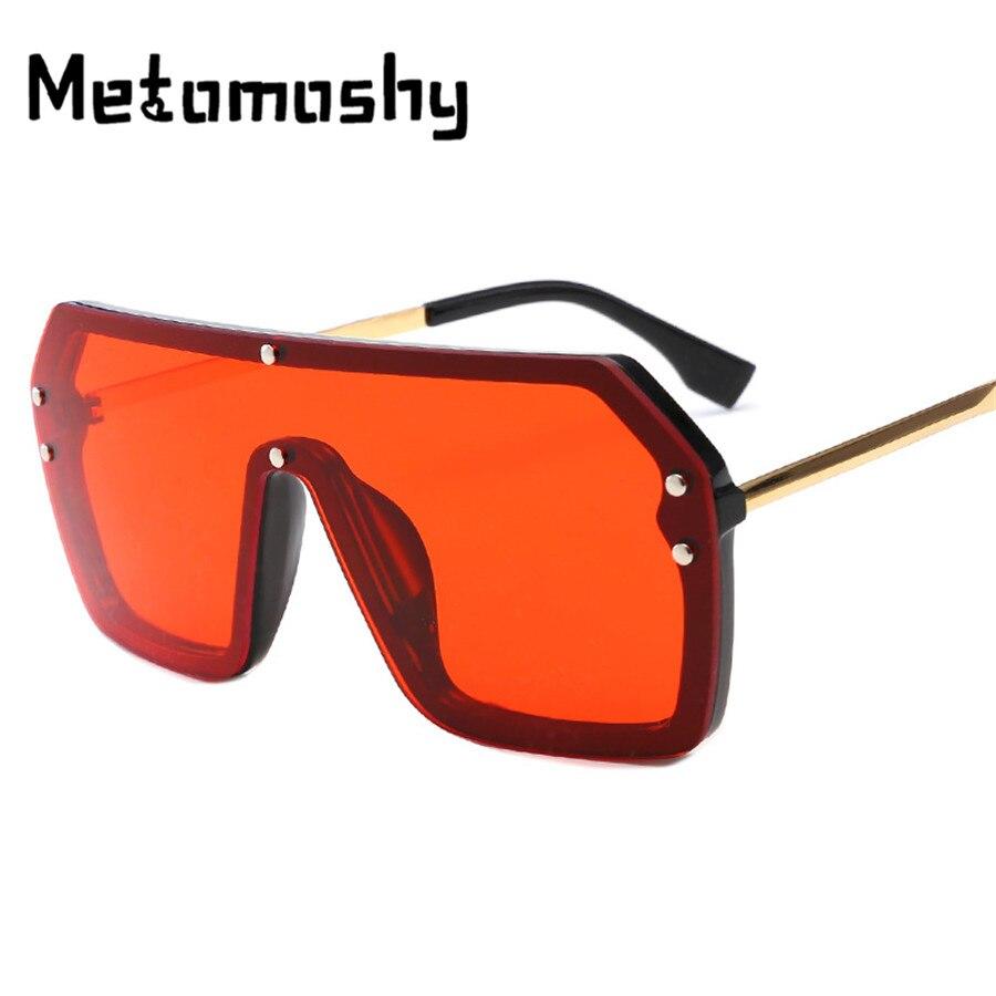 Очки солнцезащитные женские большие с градиентными линзами, модные брендовые дизайнерские квадратные солнечные очки из пластика, UV400