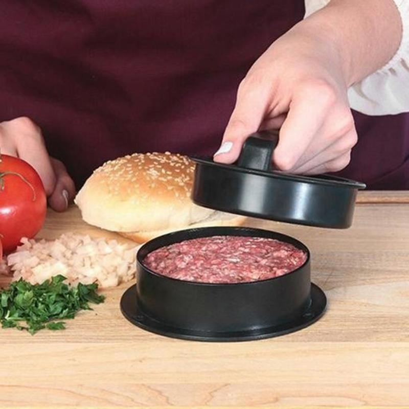 ABS Hamburger Maker Hamburger Press Round Shape Non-Stick Chef Cutlets Hamburger Meat Beef Grill Burger Press Patty Maker Mold