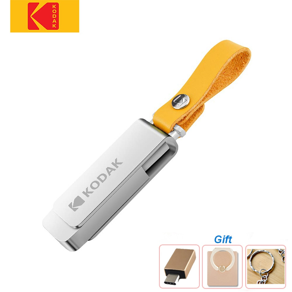 Original Kodak USB 3.0 K133 Mini Pen Drive 256GB 128GB 64GB 32GB USB Flash Drive Memory Stick Lanyard U Disk USB Key Pendrive
