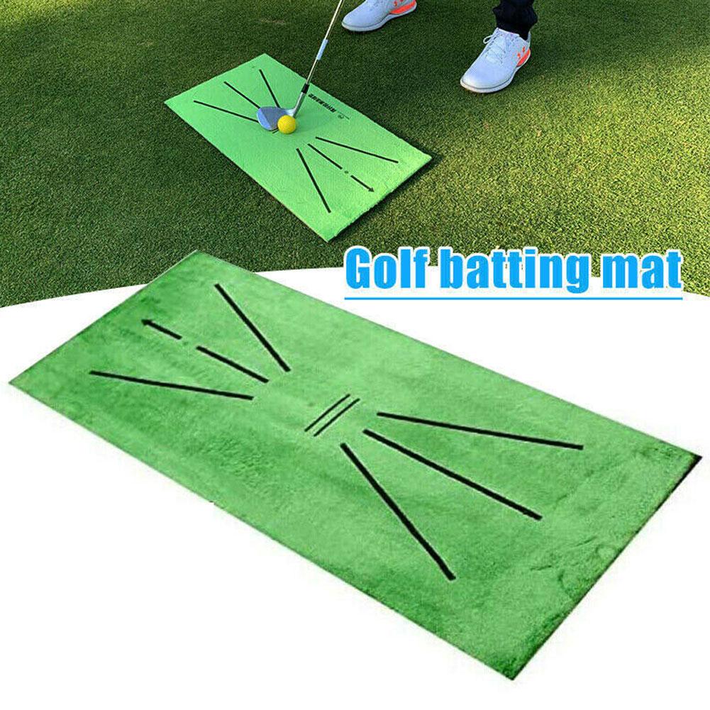 Тренировочный Коврик для гольфа 30*60 см, коврик для ударов, прочный портативный, для игры в гольф, тренировочное оборудование для двора, офиса
