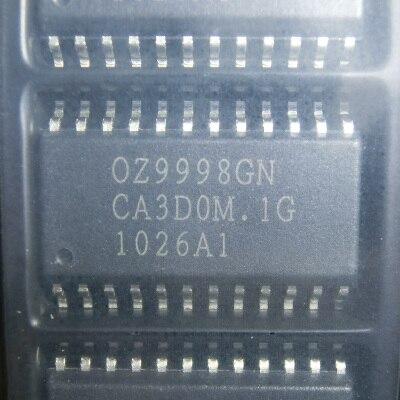 5pcs/lot OZ9998GN 0Z9998 OZ9998AGN SOP-24 In Stock
