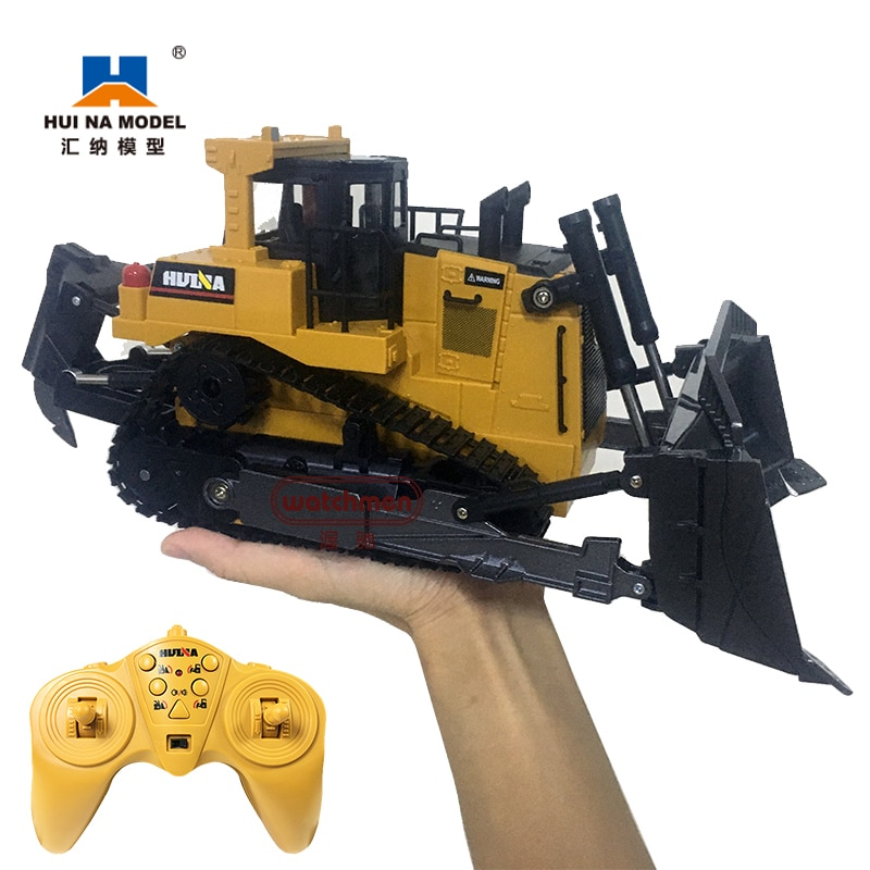 Huina 569 Remote Control Truck Engineering Truck Series Truck 1:16 8Ch Heavy Bulldozer Crawler Type enlarge