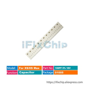 For iphone Xs/Xs max Capacitor C3042 C3045 C3370 C4212 C4701 C4700 C3043
