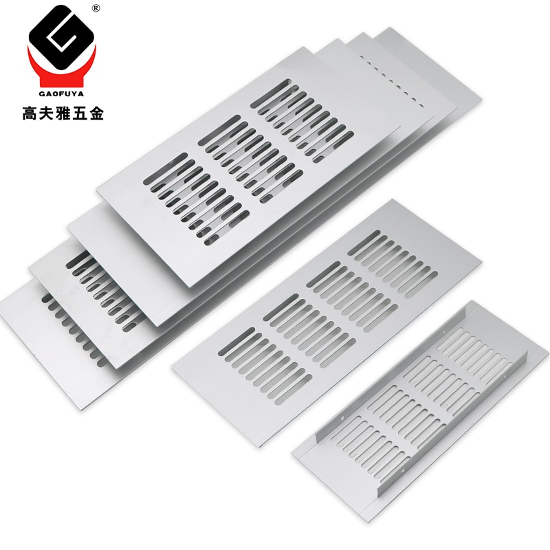 Листы для вентиляционного шкафа из алюминиевого сплава, перфорированные листы для вентиляционных отверстий, решетка вентиляции, вентиляци...