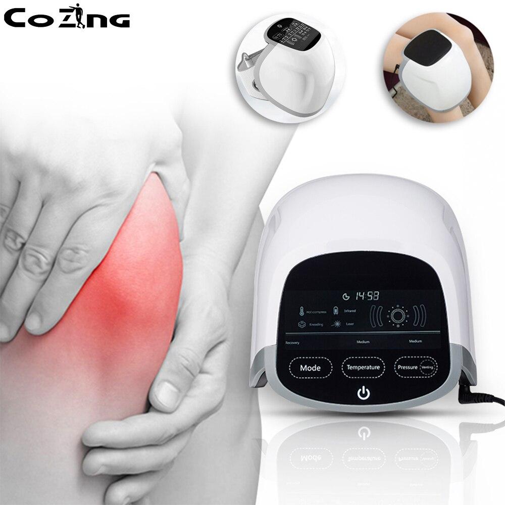 Terapia con láser de bajo nivel alivio del dolor de rodilla alivio del dolor articular terapia con artrosis natural 808 nm Dispositivo de luz roja infrarroja lejana