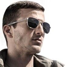 2021 Retro military fashion army to pilot 52mm sunglasses brand  Classic polarized sunglasses lunett