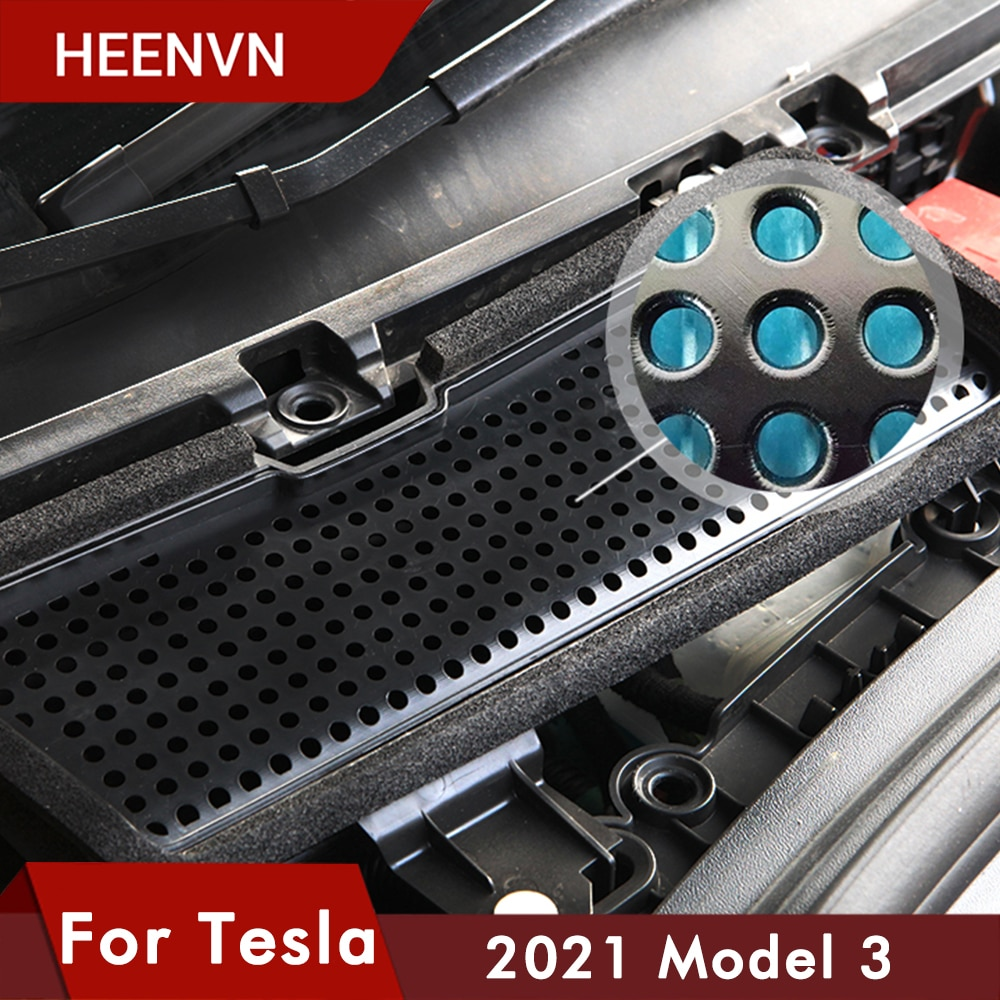 Heenvn Model3 New Air Filter HEPA Cleaner For Tesla Model 3 2021 Accessories Air Condition Filter Replacement Protection Three недорого