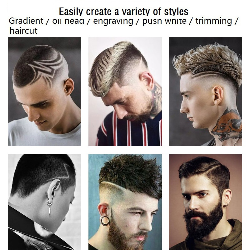 Kemei All Metal Rechargeable Electric Hair Clipper Professional Hair Trimmer for men Haircut Shaving Machine Kit cordless corded enlarge