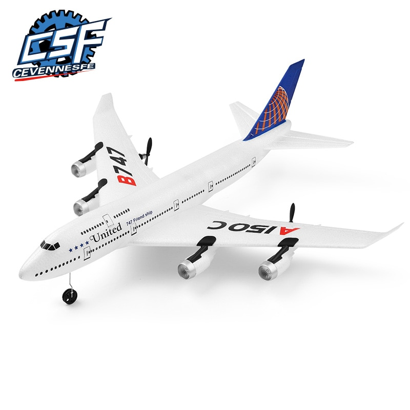 2020 NEW drone A150-C Boeing B747 Model RC Airplane 2 Channel Remote Control Aircraft Toys For Child