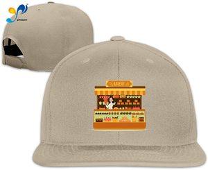 Yellowpods Bakery Men's Relaxed Medium Profile Adjustable Baseball Cap