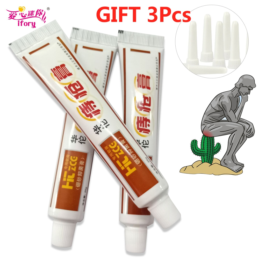 Ifory 3Pcs/lot Chinese Patch Health Care 100% Traditional Plant Herbal Powerful Hua Tuo Hemorrhoid