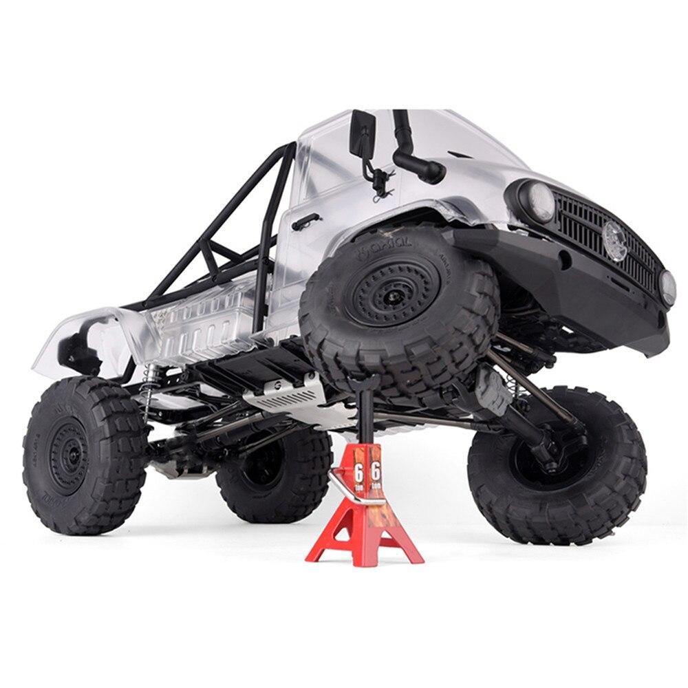 Armadura de acero inoxidable # G151C para GRC SCX10 II chasis medio escudo UMG10 90046 90060