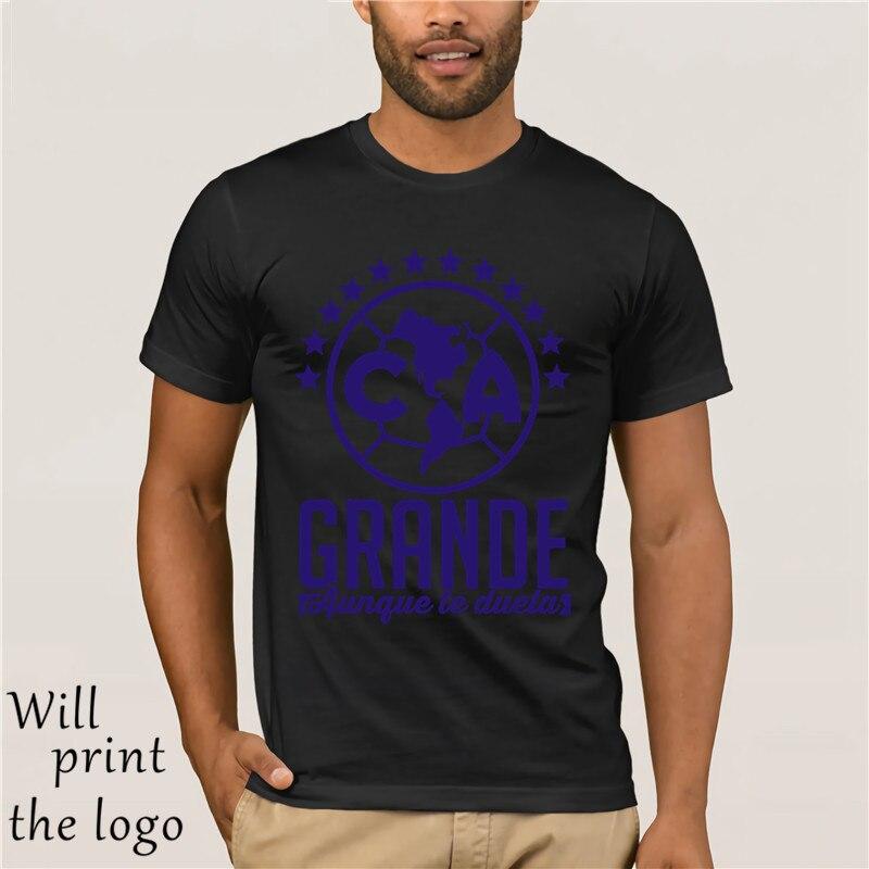 Tops para hombre, camisetas para Club America Mexico, Camiseta, águila, BIG anybody who fighting you FMF, Camiseta informal, ropa de moda