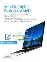KPAN 2PCS Anti-blue Flexible Tempered Glass Film 9H  0.2mm macbook pro Retina Air 12 13 15 16 Macbook Air screen protector A2141
