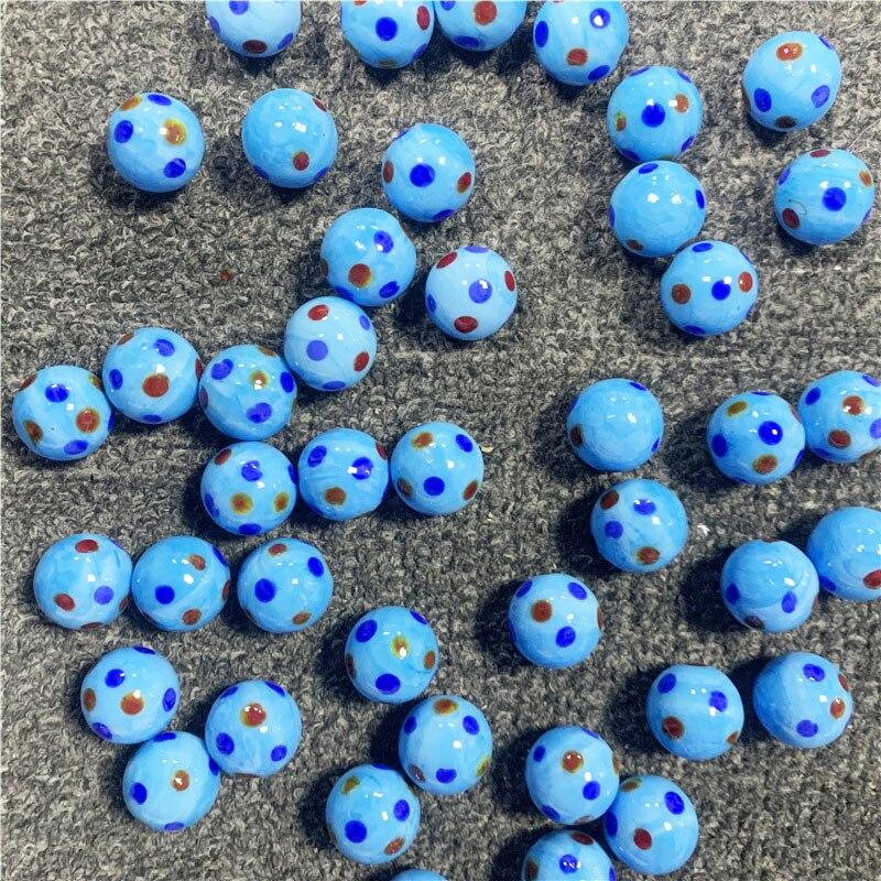 1/5/10 шт. 20 мм стеклянные шарики крем крупного рогатого скота маленькие Мраморные Шарики игрушки для родителей-Приблизительная консоль игров...