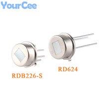 2 stücke RD624 RDB226 RDB226-S Menschlichen Körper Infrarot Sensor Digitale Pyroelektrische Sensor für Sicherheit Smart Home Gerät