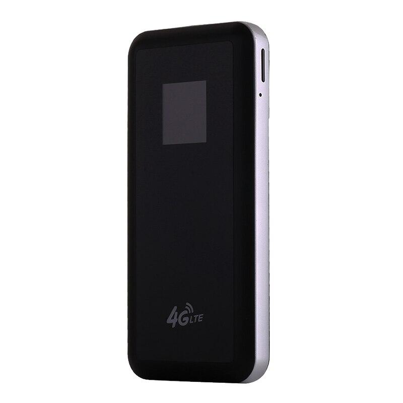 Router Wifi 4G Router Wifi 150Mbps Wifi Punto de Acceso móvil portátil coche inalámbrico WiFi Router con Banco de energía para teléfono