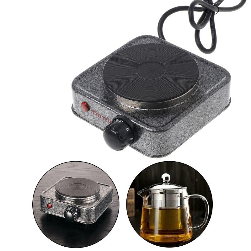 Mini Elektrische Herd Kaffee Heizung Platte 500W Multifunktions-hausgeräte Kit G8TC