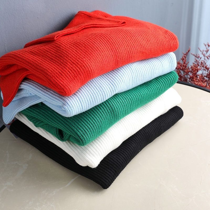 Casual Loose Oversized Lady Sweater Autumn Winter Warm Turtleneck Knitted Pullover Female Pure Cashmere Thick Soft Wild Sweater enlarge