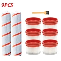 hepa filter roller brush replacement kit for xiaomi for dreame v9 v9 pro v10 handheld cordless vacuum cleaner parts accessories