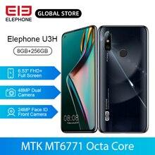 En Stock ELEPHONE U3H Helio P70 Octa Core Smartphone 8GB 256GB 6.53