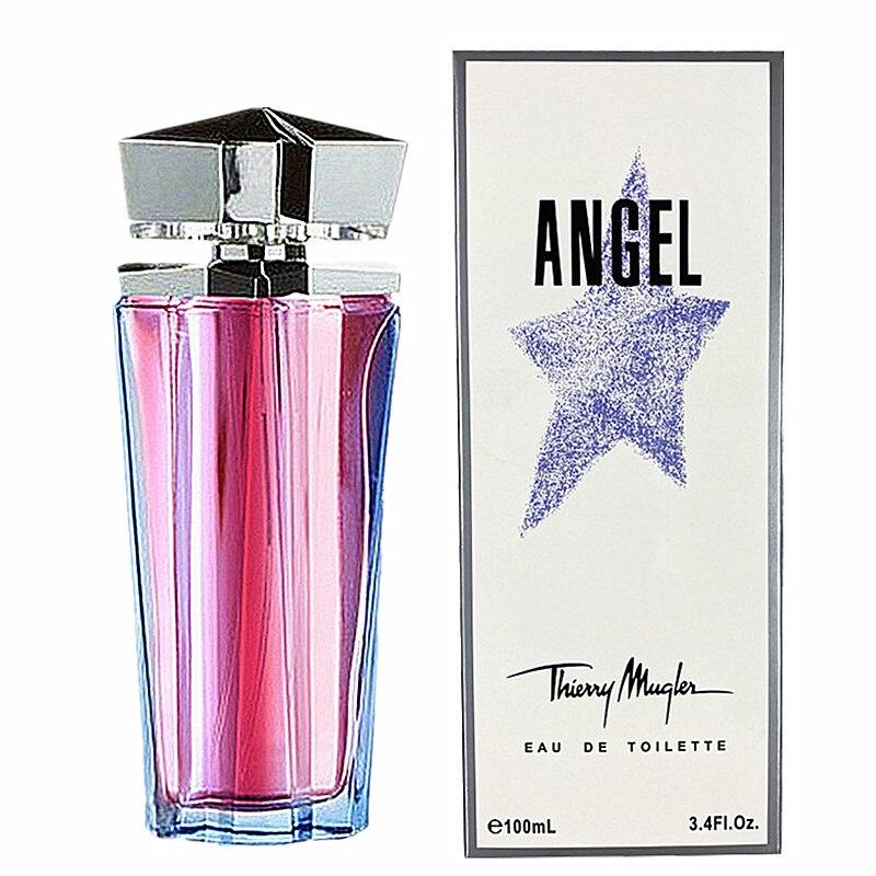 100ML Free Shipping Parfume for Women ANGEL EAU DE TOILETTE Parfumes Mujer Originales Natural Parfum Pour Homme Spray