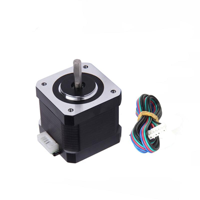 Envío Gratis, Motor paso a paso Nema17 de 42mm, Motor 42BYGH 1,5 a (17HS4401), 4 conductores para impresora 3D