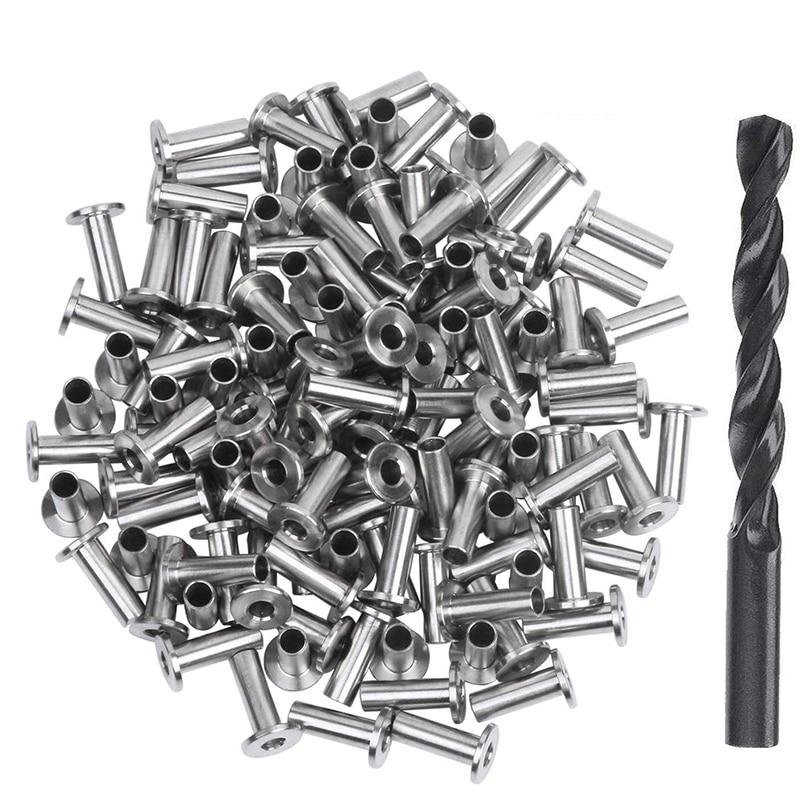 120 حزمة الفولاذ المقاوم للصدأ حامي الأكمام ل 1/8 بوصة 5/32 بوصة أو 3/16 بوصة كابل حديدي ، T316 البحرية الصف كابل حديدي كي