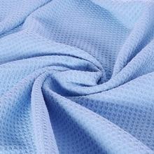 Grande serviette de lavage de voiture en microfibre tissu Super absorbant tissage gaufré Premium 270E