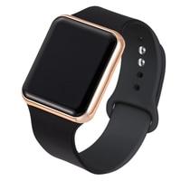 Спортивные светодиодные цифровые часы для женщин и мужчин, модные повседневные электронные часы с акриловой лентой, армейские военные нару...