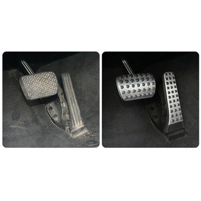 2pcs pads Pedale Car Cover Auto Affare Per Mercedes-Benz C E S W222 W205 W213 R172