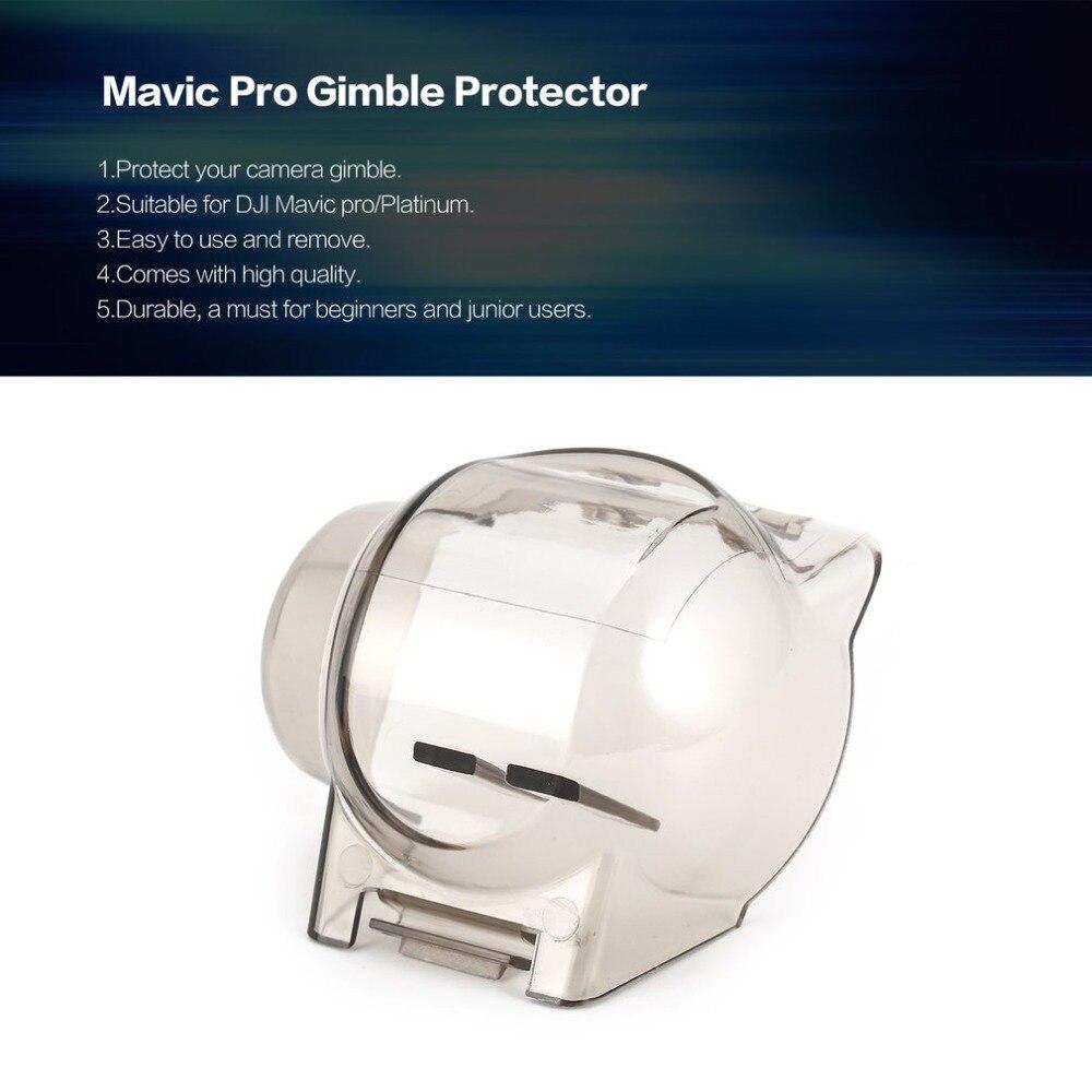 Cardán, cubierta protectora de cámara, tapa de lente para DJI MAVIC PRO/protector de bloqueo cardán de platino para DJI MAVIC PRO, accesorios para Drones