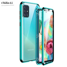 Double Sided Magnetic Metal Case For Samsung Galaxy S30 S20 S21 S10 S9 S8 Plus Note 20 UItra 10 Pro