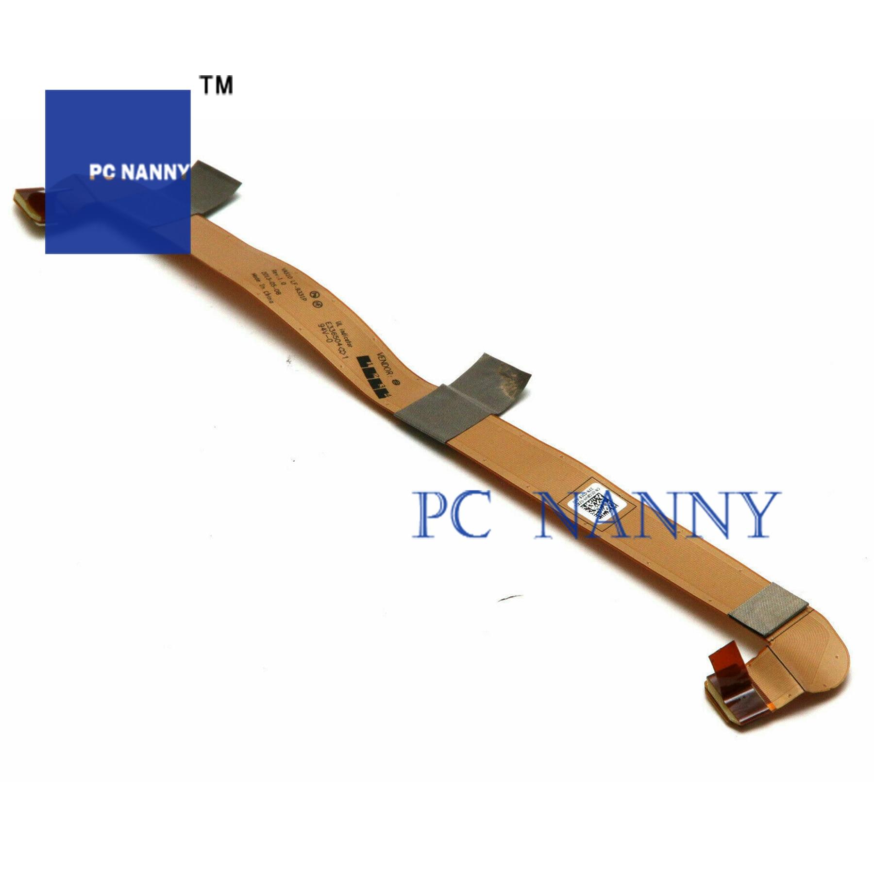 PCNANNY para Dell M18X R3 portátil Nvidia SLI conector de Cable 0CG8VH LF-9331P placa del Sensor LS-933GP placa led LS-933NP 0RWF8V