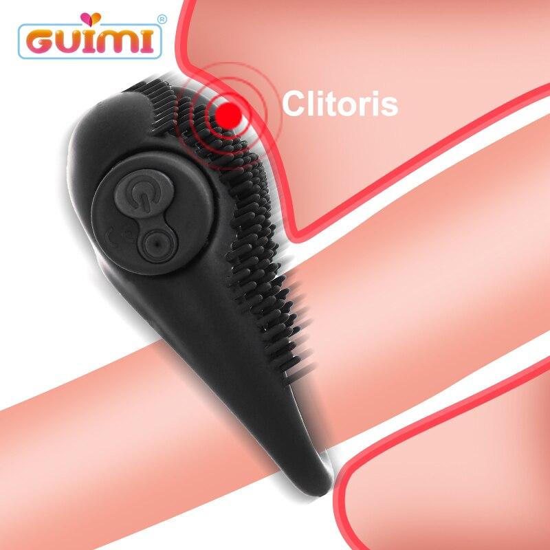 Penis Ring Vibrator Sex Toys For Men Vibrating Cock Erection Clitoris Stimulator Erotic for Couples Shop