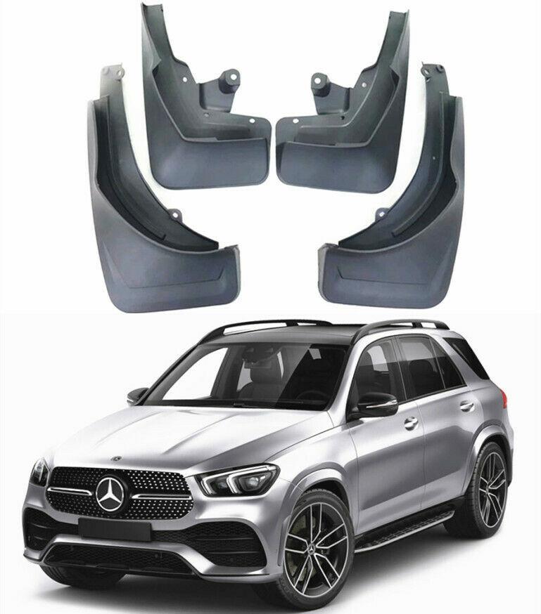 4pcs Car Mudflaps Front Rear Mudguards for Mercedes Benz GLE Class V167 W167 350 450 2019 2020 Splash Guards fender Flares