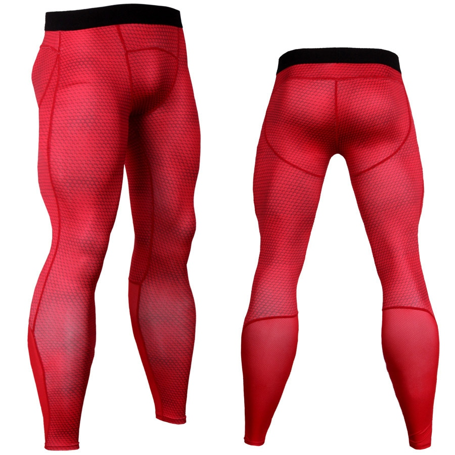 AliExpress - 2021 Men's Running Pants Sports Legging Sports Pants Quick Dry Breathable Pro Compression Gym Fitness Athletic
