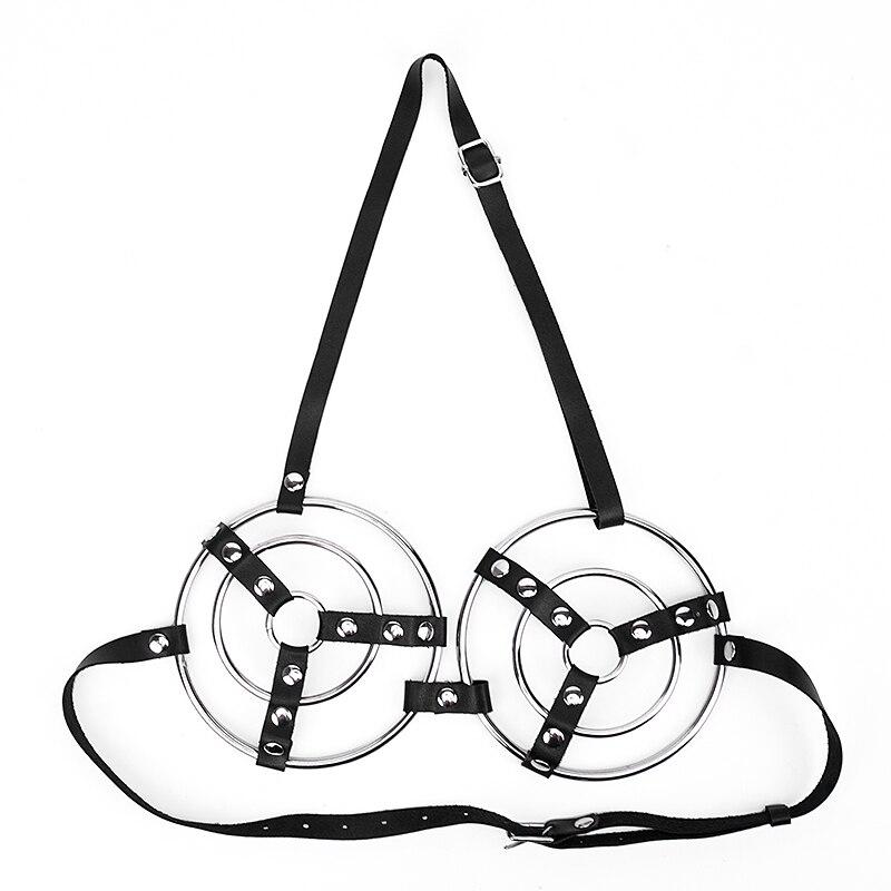 Cinto de couro aço tortura dispositivos restrições bdsm bondage sexo brinquedos para casais sexy ferramentas para venda escravo estima sextoys postura